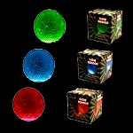 2.5 Inch Glow Bouncy Ball: RGB (3-Pack)