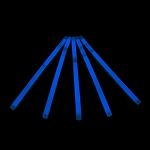 Glow Swizzle Stir Stick: Blue (100-Pack)