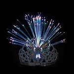 Butterfly Fiber Optic Tiara