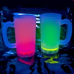 Cool Glow Mugs 12oz. Pink (30 per Pack!)