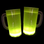 Cool Glow Mugs 12oz. Yellow (30 per Pack!)