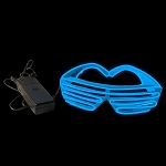EL Wire Stunner Shades, Blue
