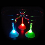 Flashing 10 oz Margarita Glass
