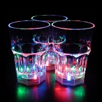 Flashing 14 oz Whiskey Rocks Glass