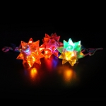 Flashing Jelly Star Ball Necklace (24-Pack)