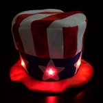 Flashing Uncle Sam Hat