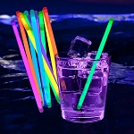 Glow Swizzle Stir Stick: Assorted (100-Pack)