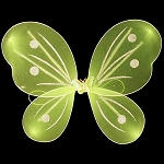LED Flashing Butterfly/Fairy Wings - Green