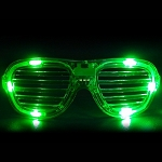 Green LED Shutter Glasses