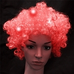 Red Flashing Wig