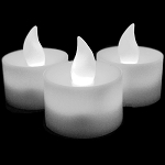 LED Flicker Candle: White