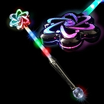 Light Up LED Flower Wand