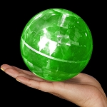 Light Up Bouncing Ball, Green