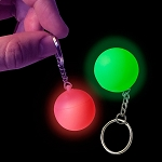 Light Up Mini Mood Orb Keychain
