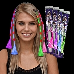 LED Light Up Braided Hair Extensions