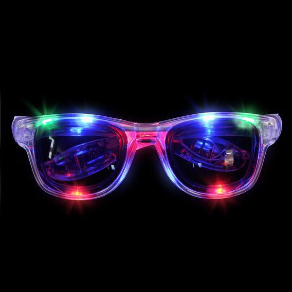 Led Retro Sunglasses Light Up Retro Shades Led