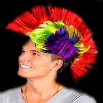 Light Up Mohawk: Multicolor