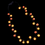 LED Pumpkins Necklace
