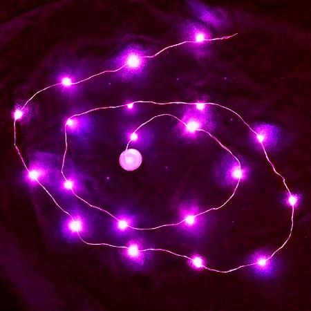 Waterproof LED String LED Light - Pink Sureglow.com