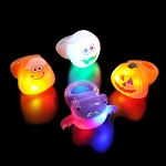 Light Up Halloween Rings (24-Pack)