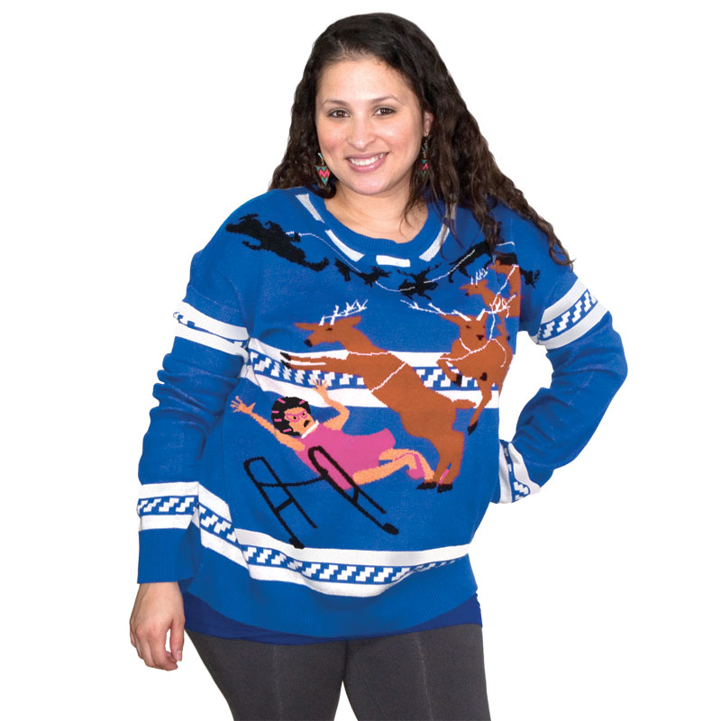 Ugly christmas sweater run