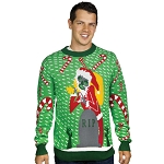Ugly Christmas Sweater: Zombie Santa