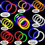 Ultimate Glow Bracelet Party Pack- 100pack: Version 2