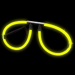Yellow Glow Glasses (Singles)
