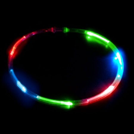 6 Light LED Chaser Necklace