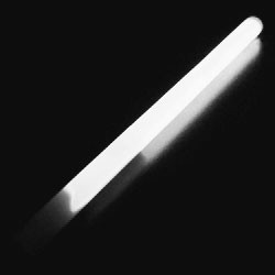 "10"" White Concert Glow Wand (24-Pack)"