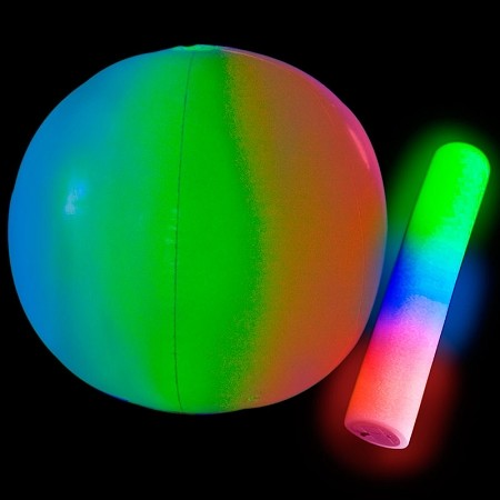 "24"" Giant Light-Up Beach Ball"