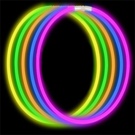Economy Glow Necklace - Assorted (50-Pack)