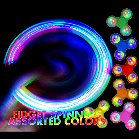 LED Fidget Spinner- Assorted Colors