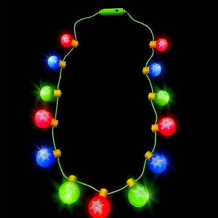 Light Up Ornament Necklace