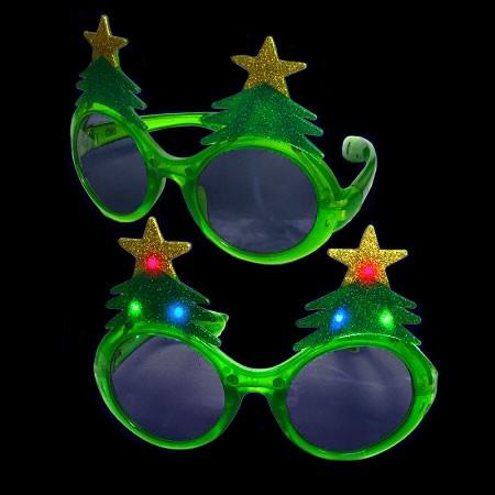 light up christmas tree sunglasses - Light Up Christmas Tree