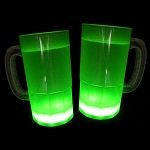 Cool Glow Mugs 12oz. Green (15 per Pack!)