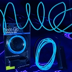 EL Wire String Light Blue