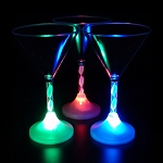 Flashing 7 oz Martini Glass