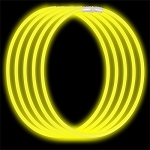 Economy Glow Necklace - Yellow (50-Pack)