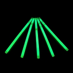 Glow Swizzle Stir Stick: Green (100-Pack)