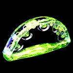 Flashing Tambourine- Green