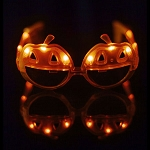 LED Light Up Pumpkin Sunglasses - 6 pack