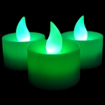LED Flicker Candle: Jade