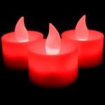 LED Flicker Candle: Red
