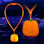 Light Up Pumpkin Lanyard