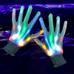 LED Gloves: Rainbow