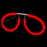 Red Glow Glasses (50-Pack)