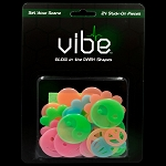 Glow In The Dark Multicolor Sixties Pieces - 24 Piece Set