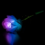 White Petal LED Rose