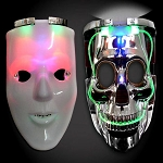 LED Double Mask- White